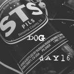 Bonus - Beer Of The Moment STS Pils by Russian River Brewing Company, on the Dog Days Of Podcasting Day 16